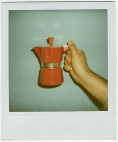 Coffee: Moka coffee pot, the best way to make coffee at home.