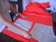 """Serie Aprendendo a costurar """" Enfestando, encaixando e cortando um short"""""""
