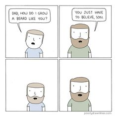 """B is for Beard 
