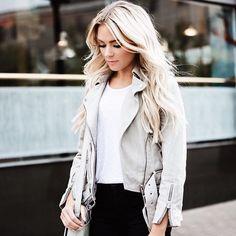 @HappilyEverAllen - Instagram fashion. Instagram photo. Best photo filters. Best instagram pictures. Happily Ever Allen. Chase Allen. Brit Allen. Men's fashion. Women's fashion. Couples fashion. Blogger. Blogger style. Street style. Ootd. Posing guide. Makeup. Beauty. All saints. Leather jacket. Grey jacket. Suede jacket.