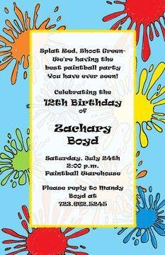 Kids Birthday Invitations - partyinvitations.com Birthday Invitations Kids, 12th Birthday, Free Paper, Invitation Design, Coupon Codes, Card Stock, Envelope, Envelopes, Paper Board
