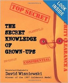 The Secret Knowledge of Grown Ups is an awesome book for a read aloud and then follow up writing activities!