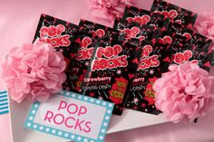 Pop Rocks candy for a rockstar party