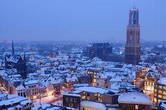 Donker Utrecht - Binnenstad met Domkerk en Domtoren
