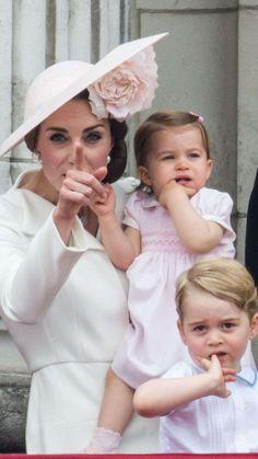 Cute alert! New Prince George, Princess Charlotte pics