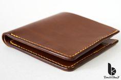 Handmade leather a man´s wallet by Brano Klocan LEATHERCRAFT  Ručne šitá kožená pánska peňaženka Leather Craft, Zip Around Wallet, Bags, Leather Crafts, Handbags, Totes, Lv Bags, Taschen, Bag