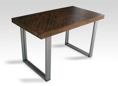 54x28 Contemporary Desk Chevron Dark Ale  Raw by UnionFurnishings, $580.00
