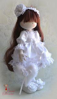 Soul of a rag doll: мои куклы-девочки Pretty Dolls, Cute Dolls, Beautiful Dolls, Diy Doll Pattern, Doll Patterns, Doll Toys, Baby Dolls, Doll Tutorial, Little Doll