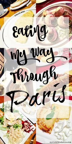 Some people vacation to see historical sites. Some people go for the beach. Me? I travel for food and wine! Here's how to eat your way through a day in Paris France. Paris Food, Food in Paris Paris Travel Tips #yummyparis #parislikealocal #paris #moveablefeast