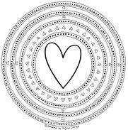 Mandala Herzen Zum Ausdrucken Und Ausmalen Ausmalbild Vorlage 8 Mandalas Zum Ausdrucken Mandalas Ausdrucken