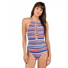 339db2bf6d Volcom Pride 1 Piece USD$79.50 One Piece Swimsuit Red, Swimsuit For Body  Type,