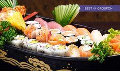 Prezzi e Sconti: #Menu orientale con sushi fino a 72 pezzi da  ad Euro 29.90 in #Groupon #Japanese1