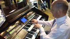 Blackpool Tower resident organist John Bowdler captured 'live' at St James' Club at Wigan playing the Technics GA3 to his regular Sunday night dancers.