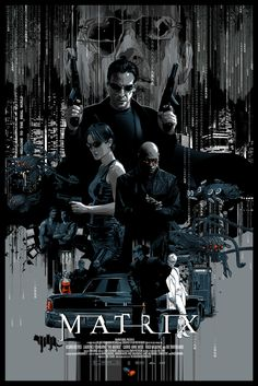 POSTER The Matrix by Vance Kelly #poster