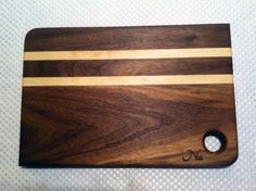 Hey, I found this really awesome Etsy listing at https://www.etsy.com/listing/187773297/two-tones-dark-small-cutting-board