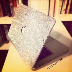 glitter macbook cover