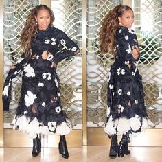 """The Lady Loves Couture on Instagram: """"#OOTD @marjorie_harvey in #Celine. Tap profile link to read her latest post, """"Foreign Language Class"""" and #StayConnected all week for the best from #ParisFashionWeek! #Paris #PFW #HauteCouture #CoutureLoversWanted #CoutureChronicles #TheLadyLovesCouture #MarjorieHarvey  @robertector"""""""