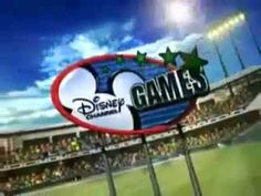 Disney Channel Games 2008 Meet the Comets Team promo