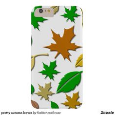 pretty autumn leaves barely there iPhone 6 plus case
