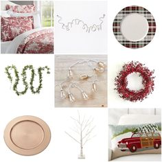toile bedding, let it snow garland, plaid plate, garland, mercury lights, cranberry wreath, copper charger, birch twig tree, holiday pillow Toile Bedding, Twig Tree, Christmas Decorations, Holiday Decor, Mercury, Birch, Garland, Charger, Copper