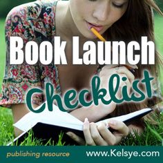 Book launch checklist: Here is a checklist to help guide you through the process, from the book inception all the way through the 1st month of publication.