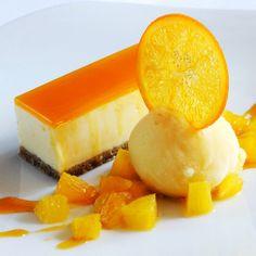 Orange White Chocolate Cheesecake Recipe from The Japanese Kitchen