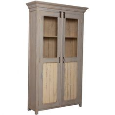 Ordinaire Country Cottage Pantry Cabinet   Cottage Chic, #cottagechic,  #displaycabinets