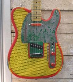 Rasta Ganja guitar or Cannibus Electricus