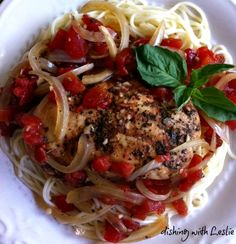 Dishing With Leslie: Balsamic Chicken (slow cooker)