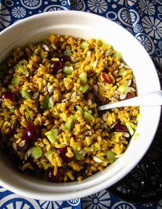 Curry-Getreidesalat - Fit Mama Real Food