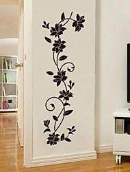 Wall Stickers JiuBai™ Flower Vine Wall Sticker Wall Decal