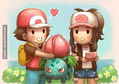 Valentines Day, Pokemon Version.