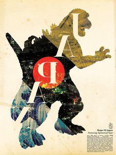 Godzilla: Japan: By ecsuecsu Marcelo Clapp