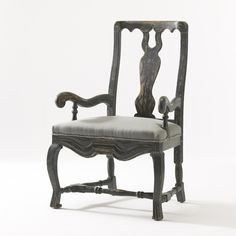 inspiration for one dining room chair that we grew up with, maybe