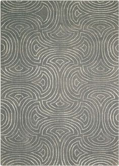 Vita Moss Area Rug - Nourison VIT11 Contemporary Area Rugs, Modern Rugs, Grey Rugs, Beige Area Rugs, Transitional Area Rugs, Rectangular Rugs, Rectangle Area, Hand Tufted Rugs, Indoor Outdoor Rugs