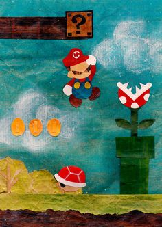 Real Life Mario Paper