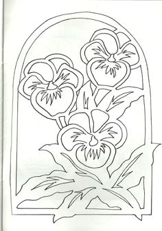 """New Free of Charge Pansies outline Style Pansies include the bright colored bouquets with """"faces."""" Some sort of cool-weather popular, pansies are Kirigami, Stencils, Paper Art, Paper Crafts, Blue Lotus Flower, Wood Carving Patterns, Parchment Craft, Scroll Saw Patterns, Stained Glass Patterns"""