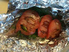 Rugstuk kabeljauw in pakketje (voor de BBQ)