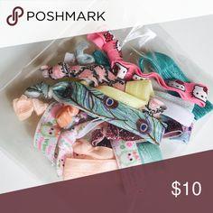15pc bag of elastic hair ties 15pc bag of elastic hair ties Handmade Accessories Hair Accessories