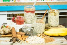 Overnight Oats are not only healthy but delicious! For more healthy recipes, watch Home & Family weekdays at 10a/9c on Hallmark Channel!