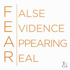 Don't give in to your fears! They're mostly in your mind! #Mindset #BeBrave