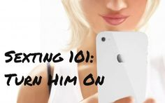 Learn how to turn a guy on by text and get some example text messages to send that hunky man you've been flirting with. Find out the key to sending sexy text messages and get started!