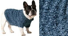 Un manteau pour chien au point jersey - Prima Chihuahua Clothes, Puppy Clothes, Dog Mode, Boston Terrier, Dog Sweater Pattern, Dog Sweaters, Dog Coats, Baby Dogs, Dobby