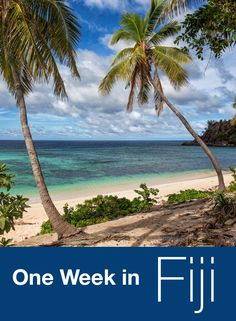 One Week in Fiji. We stayed in the Mamanucas, visited Cloud 9, took surfing lessons, visited Modriki Island, and saw some of the world's best sunsets.