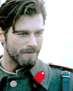 "Kivanc Tatlitug as Kurt Seyit Eminof in Turkish TV Drama ""Kurt Seyit ve Sura. Turkish Men, Turkish Actors, Most Beautiful Man, Beautiful People, Kurt Seyit And Sura, Father Photo, Dapper Gentleman, Handsome Faces, Face Characters"