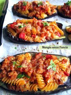 Gratin mussels with chard - Healthy Food Mom Gourmet Recipes, Pasta Recipes, Healthy Recipes, Gratin Dish, Best Italian Recipes, Rigatoni, I Foods, Food Print, Al Dente