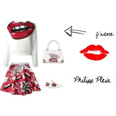 J'ADORE PHILIPP PLEIN by natalia-kad on Polyvore featuring moda and Philipp Plein