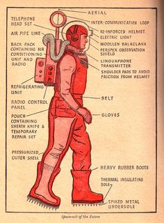 Space suit of the future