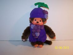 Monchhichi monkey - loved them!!  Oh so soft and cud-el-ly!!