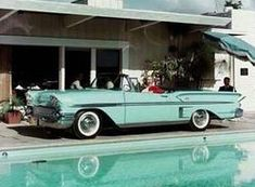 1958 Chevrolet Impala Convertible Coupe